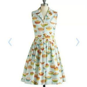 Modcloth Pie Dress Vintage Style